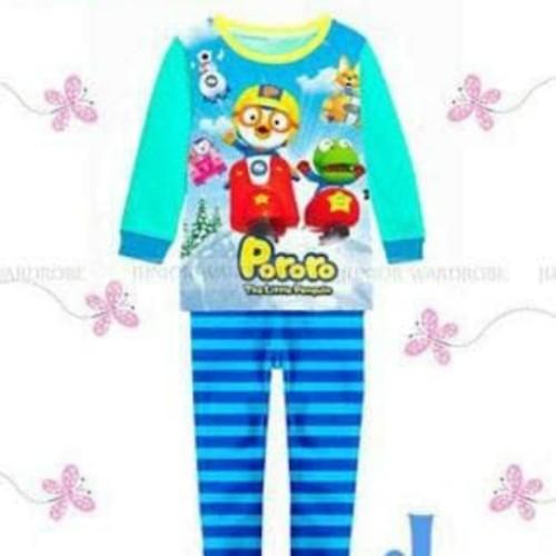 Foto Produk JW 24 J Pororo pajamas - 1-2 tahun dari Love Kids Wholesaler