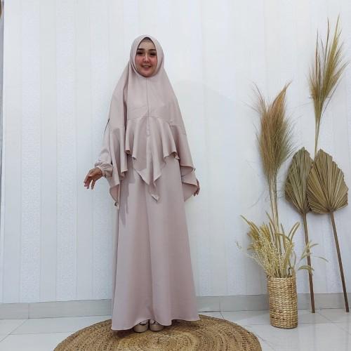 Foto Produk Baju Gamis Syar'i Wanita Deloxa Boutique MM 355 dari Artikhashop