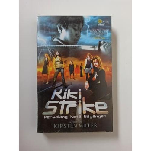 Foto Produk Novel Fantasi Kiki Strike Petualang Kota Bayangan oleh Kirsten Miller dari Toko Buku Bekas Aksiku