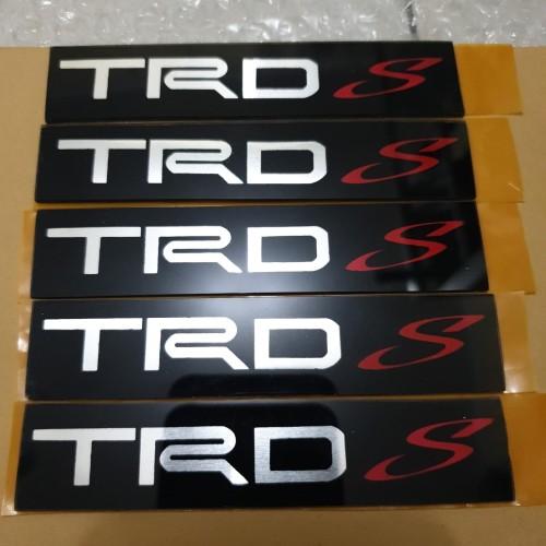 Foto Produk emblem variasi TRD S dari toko#dirumahaja