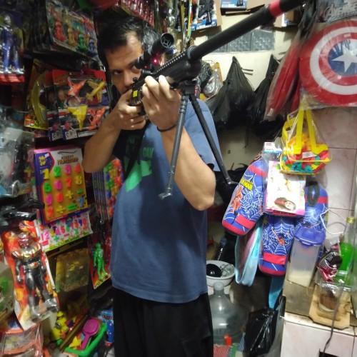 Foto Produk Airsoftgun Sniper M801 D'cobra ala Counter Strike dari Bang izal Toys