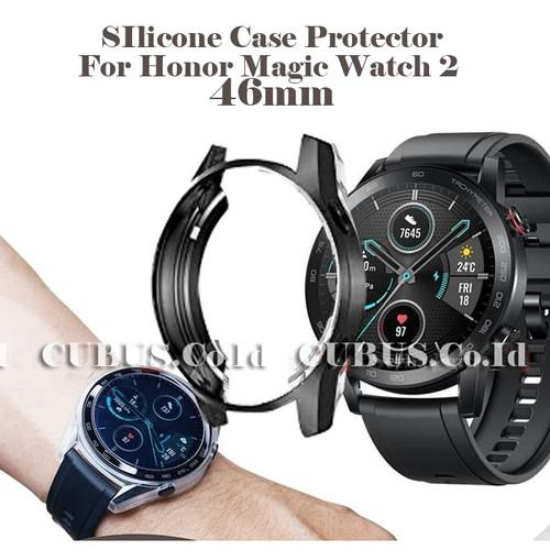 Foto Produk COSTA SIlicone Case Protector For Huawei Honor Magic Watch 2 46mm - Black dari Cubus_Co_ID
