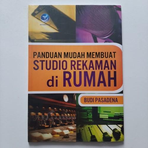 Foto Produk PANDUAN MUDAH MEMBUAT STUDIO REKAMAN di RUMAH (Original) + Bonus DVD ! dari SPEAKINGid