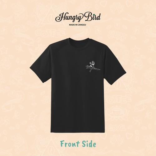 Foto Produk Hungry Bird - Catching Waves T-Shirt - S dari Hungry Bird Coffee