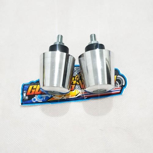 Foto Produk Jalu bandul stang Aluminum shogun Crome Chrome universal dari gudang variasi mtr