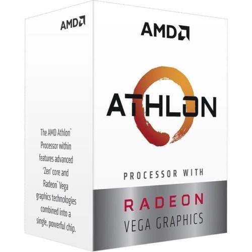 Foto Produk AMD Athlon 3000G (Radeon Vega 3) 3.5Ghz AM4 [BOX] - 2 Core dari Yoestore