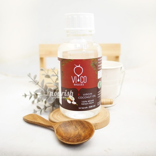 Foto Produk Vico Bagoes, Extra Virgin Coconut Oil 500ml dari Nourish Indonesia