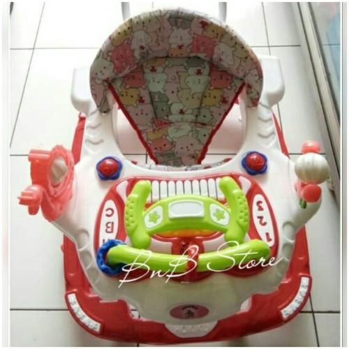 Foto Produk Baby Walker Music Hokiku 3877 - Merah dari BnB Store Tangerang