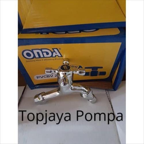 Foto Produk KRAN TEMBOK / TAMAN ONDA A 812 CIS CHROME dari TOPJAYA POMPA