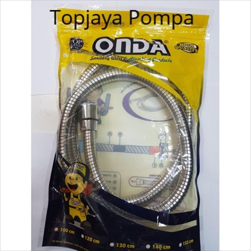 Foto Produk SELANG SHOWER MANDI / SHOWER HOSE ONDA FCHS 150 CM dari TOPJAYA POMPA
