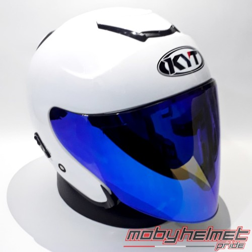 Foto Produk Paket Visor KYT Open Venom - PNP KYT Kyoto. Ink Dynamic - BLUE dari Moby Helmet Pride