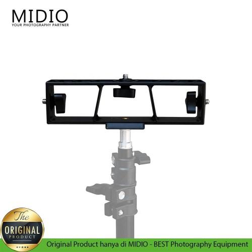 Foto Produk Universal Holder 3 Bagian dengan 1/4screw Untuk Kombinasi Ringlight dari Midio