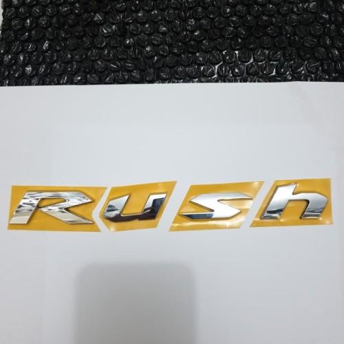 Foto Produk emblem kap mesin engine hood rush dari toko#dirumahaja
