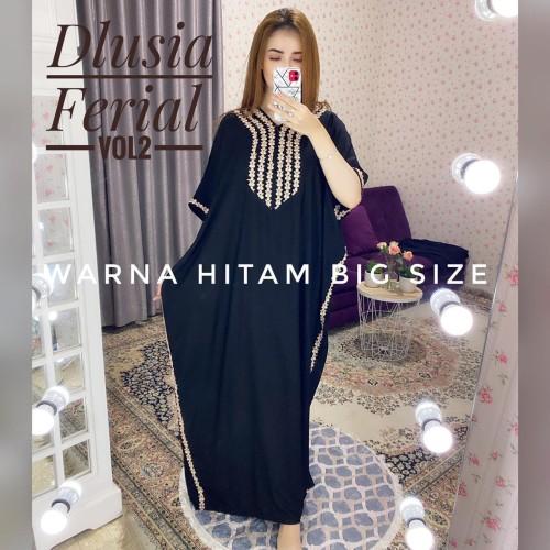 Foto Produk daster arab/india/dubai/turki dlusia ferial vol 2 dress busui jumbo dari murmershops & fashion