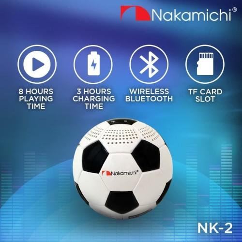 Foto Produk Nakamichi NK-2 Bluetooth Speaker dari Nakamichi Indonesia
