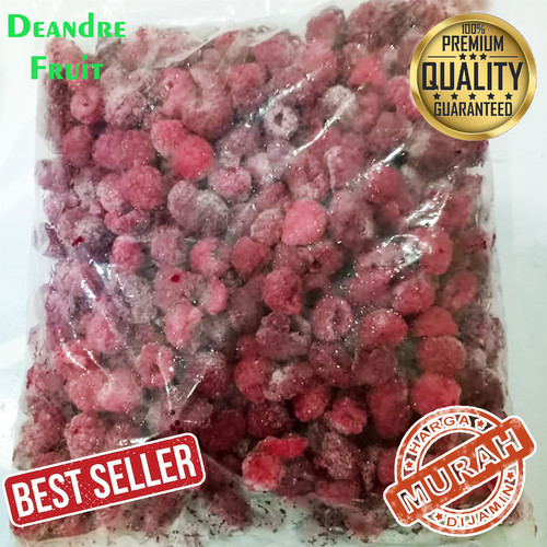 Foto Produk Buah Beku IQF Raspberry Frozen Utuh 1kg TERMURAH DIJAMIN MURAH CEK AJA dari Deandre Fruit Market1