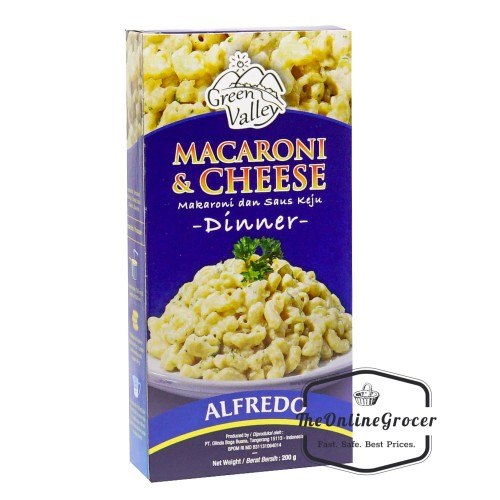 Foto Produk Green Valley Macaroni and Cheese with Alfredo Sauce 200gr - Mac N Chee dari TheOnlineGrocer