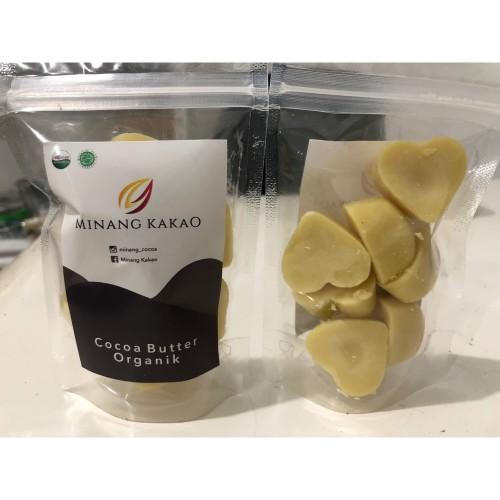 Foto Produk Cocoa Butter - unrefined - organic - 65gr dari Minang Kakao