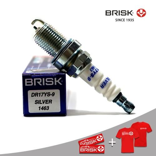 Foto Produk Busi Mobil BRISK Silver DR17YS-9 dari PT Brisk Busi Indonesia
