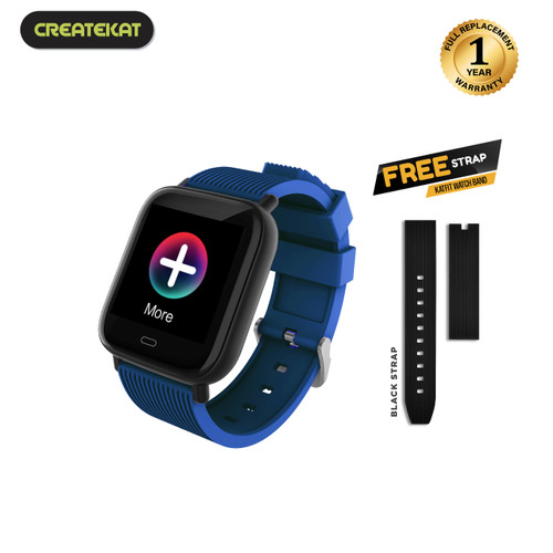 Foto Produk Createkat New Generation Katfit Watch Band - Biru dari CreateKat