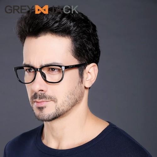 Foto Produk Grey Jack/Frame Kacamata Bisa untuk Minus TR90/Pria dan Wanita/7010 dari Grey Jack