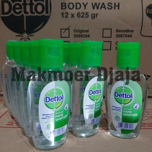 Foto Produk Dettol Hand Sanitizer 50ml Varian Original dari Makmoer Djaja