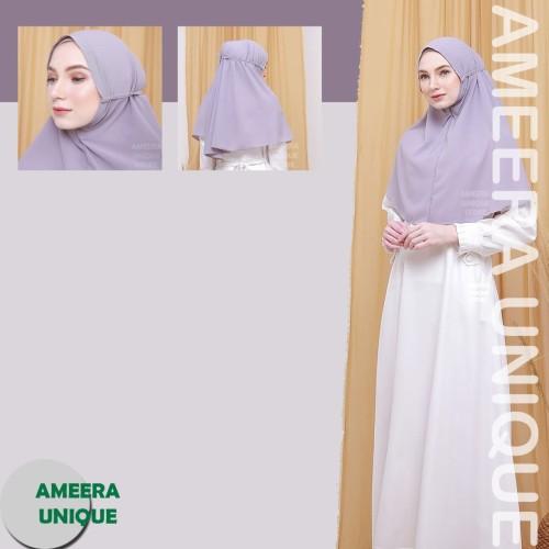 Foto Produk 75x90 BERGO MARYAM Diamond Stretch HijabJilbab Instant Kerudung hijab - MM-Dusty pink dari ameera unique store