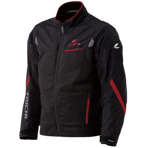 Foto Produk RS Taichi RSJ331 Torque Mesh Jacket - Black Red - M dari RS Taichi Official Store