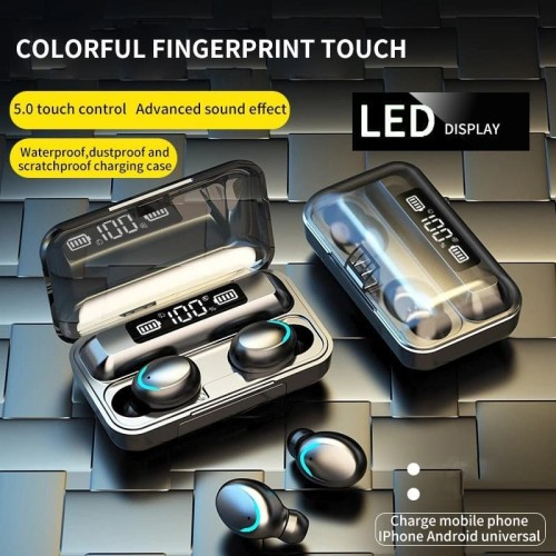 Foto Produk Promotion Top Value TWS F9-5 Bluetooth Headset Wireless Touch Display dari Onebest Choice