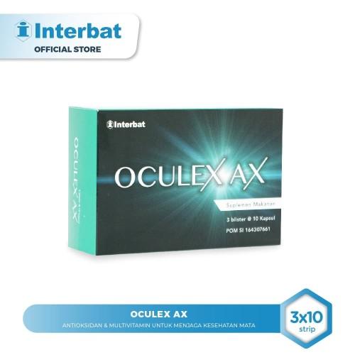 Foto Produk Oculex AX Antioksidan untuk Kesehatan Mata - 3 strip @10 tablet dari Interbat Consumer Health