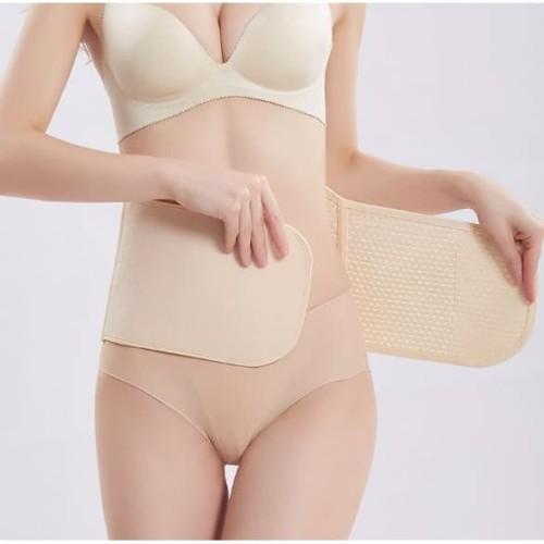 Foto Produk WIMIU Korset Pinggang Pelangsing Saraf Pria Wanita 402 - Hitam, Big Size dari Wimiu Official Store