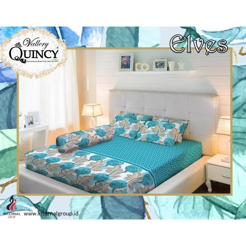 Foto Produk Sprei Vallery Quincy - Print - ELVES - 180x200 (King) dari Warna Warni Sukabumi
