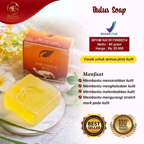 Foto Produk SR12 Sabun Bulus - Sabun Herbal Untuk Kesehatan Wajah dan Kulit dari Vamos Indonesia