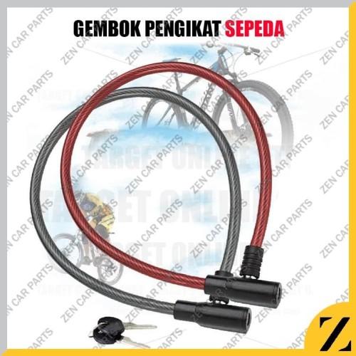Foto Produk Kunci Gembok Ban Sepeda Murah / Bicycle Lock - Random dari Zen Car Parts