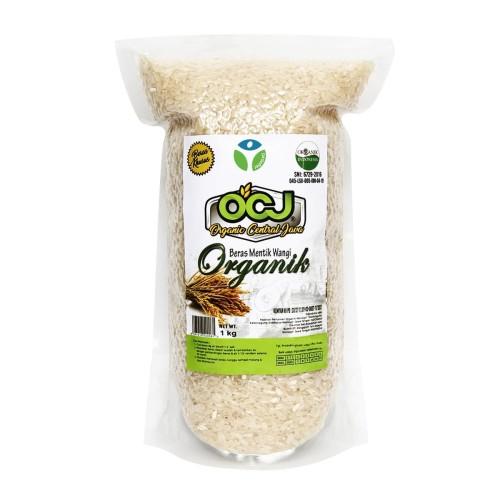 Foto Produk OCJ - Beras Mentik Sosoh Vakum 1kg - Beras Organik - Jagapati dari Jagapati