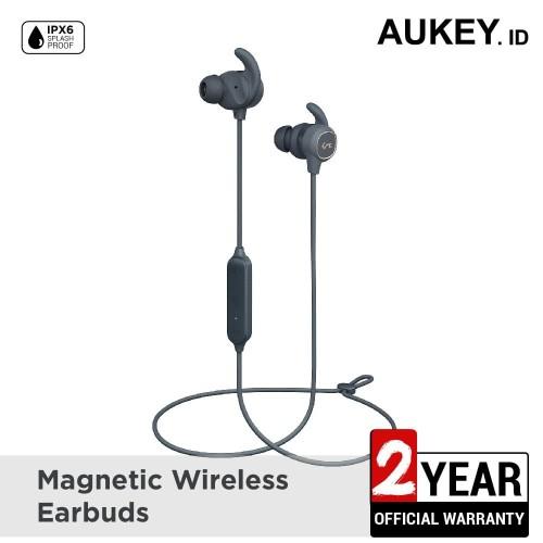 Foto Produk Aukey Headset Magnetic Wireless Earbuds - 500389 dari AUKEY