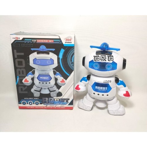 Foto Produk Mainan Anak - Robot Dancing Set Dance Music Light Intelligent Warrior dari Toko DnD