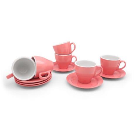 Foto Produk Cangkir Set/ Cangkir Kopi/ Cangkir Teh Farve Pink 12 Pcs/Set - Merah Muda dari TAFEL21