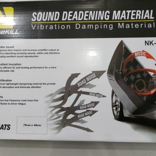 Foto Produk Peredam suara Noisekill NK-48x Peredam Aluminium Butyl Rubber dari audio baru