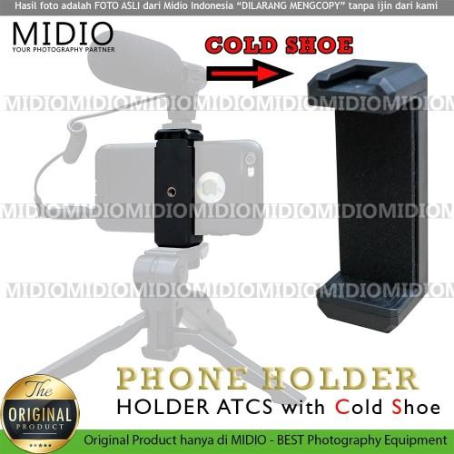 Foto Produk Holder U ATCS Midio dengan Cold Shoe Terbaik Untuk Vlogging dari Midio