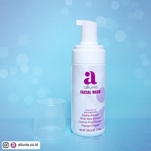 Foto Produk Alluvia fachial wash dari zailmun -shop