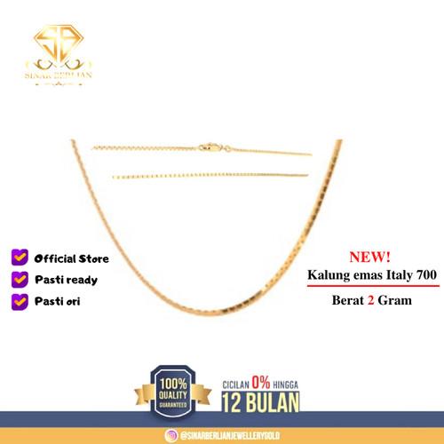 Foto Produk SINAR BERLIAN JEWELLERY - Kalung emas asli Italy Terbaru 700 - dua gram dari SINAR BERLIAN Jewellery