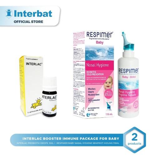 Foto Produk Interlac Booster Immune package for baby dari Interbat Consumer Health