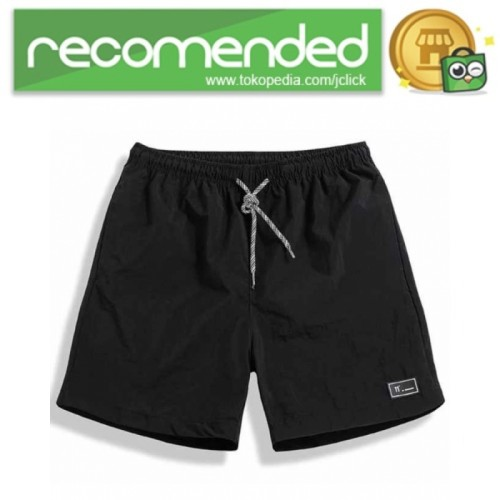 Foto Produk OufiSun Celana Pendek Pria Casual Summer Waterproof GB1841 XXL Hitam dari JClick