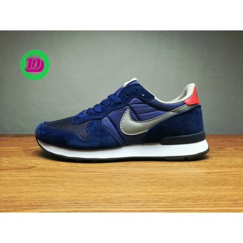 Original Nike Internationalist Blue Classic Running Shoe For Men