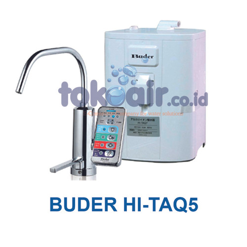 Foto Produk BUDER 5 Platinum plate Alkaline Water Ionizer HI-TAQ5 dari Toko Filter Airindo