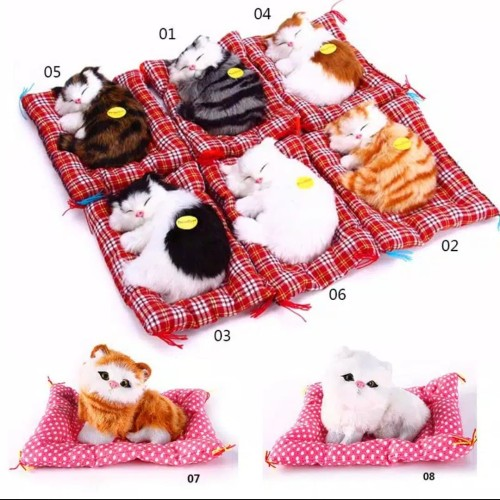 Foto Produk Boneka kucing / boneka pajangan bersuara import dari dunia boneka lucu