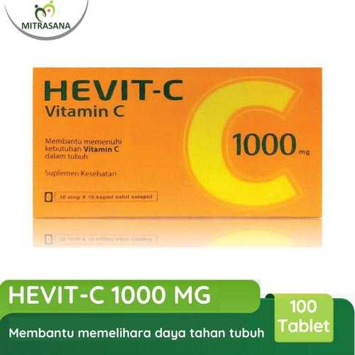 Foto Produk PROMO! Hevit C Vitamin C 1000Mg 100Tablet Hexpharm Jaya dari Mitrasana