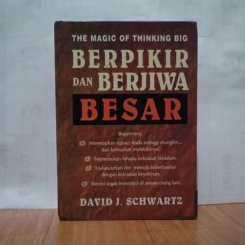 Foto Produk BUKU BERPIKIR DAN BERJIWA BESAR - DAVID J dari Revanda Book Collection