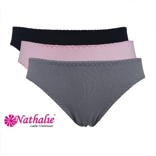 Foto Produk Nathalie Underwaer Wanita Dewasa Pants Zig-Zag NTC 3109 - M dari Flyman Nathalie Store